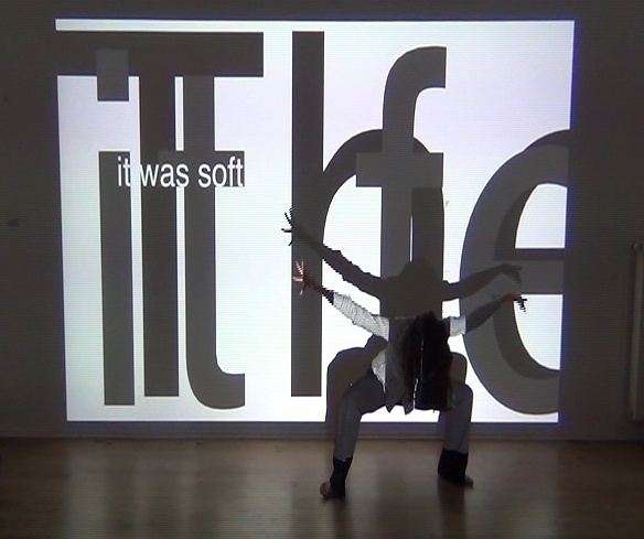 The Weight of Words, performance by Manuela Lucia Tessie.a.