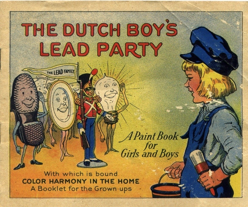 The Dutch Boy's Lead Party, National Lead Company, 1923