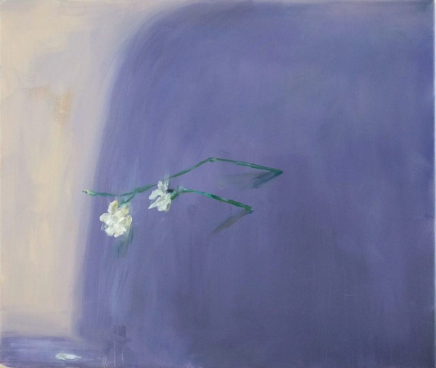 Falling – 2020, oil on canvas, 90 x 66,5 cm