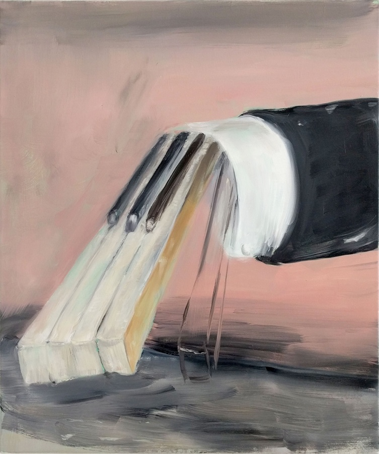 Stage – 2020, oil on canvas, 40 x 30 cm